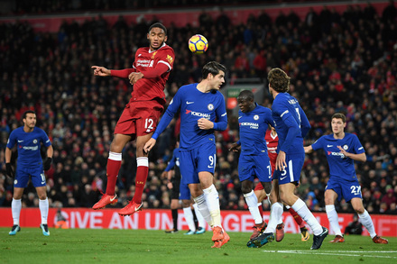 Liverpool X Chelsea Premier League 2017 2018 Campeonato Jornada 13 Photos Playmakerstats Com